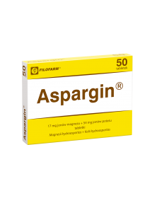 Lek uzupełniający niedobory magnezu i potasu.