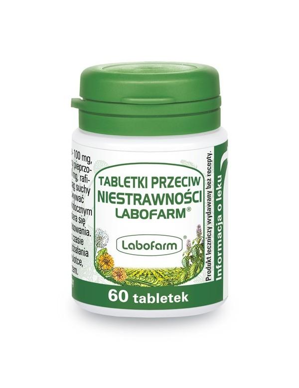 Tabletki przeciw niestrawności - Labofarm