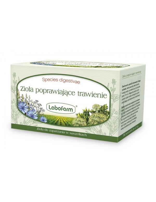 Lek ziołowy na trawienie - Zioła poprawiające trawienie