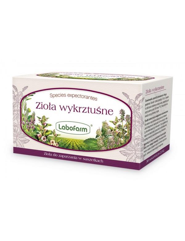 Lek ziołowy na kaszel mokry - Zioła wykrztuśne