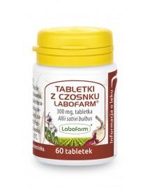 Lek ziołowy na cholesterol i odporność - Tabletki z czosnku.