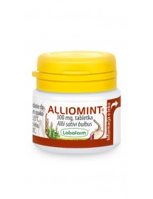 Lek ziołowy na cholesterol i odporność - Alliomint